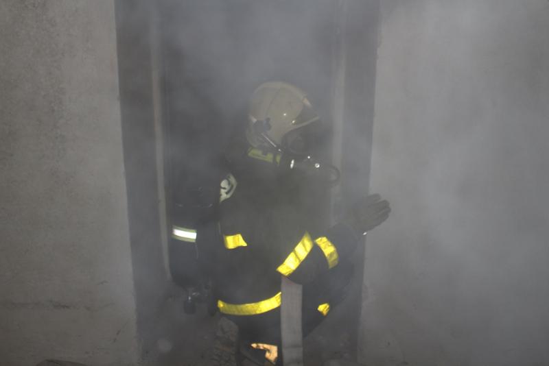 Požár sklepení